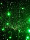 """Уличный занавес (плей-лайт) """"Дождь"""" 2 х 1.5 м. Зеленый с флеш-эффектом"""
