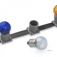 Белт-лайт 5-ти проводной пластиковый, расстояние м/у цоколями 15см, провод серый