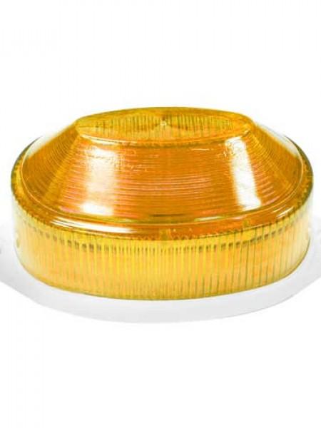Строб-лампа накладная светодиодная. Желтая