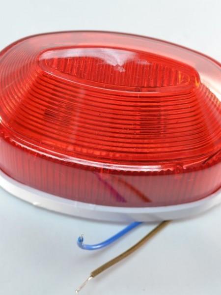 Строб-лампа накладная светодиодная. Красная