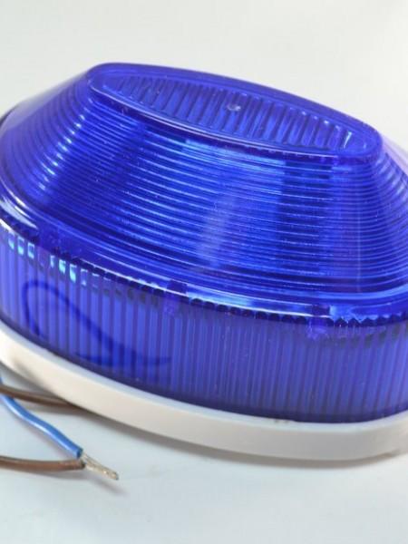 Строб-лампа накладная светодиодная. Синяя