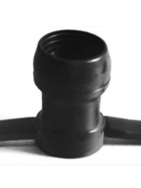 Белт-лайт 2-х проводной прорезиненный, расстояние м/у цоколями 41,5 см, провод черный