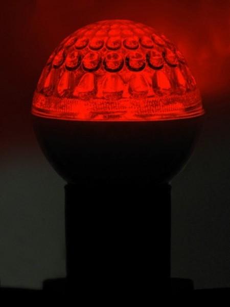 Лампа светодиодная Ø 50 мм, красная