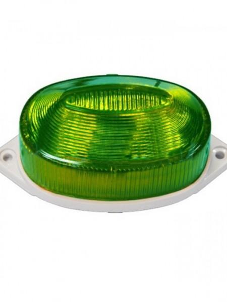Строб-лампа импульсная накладная. Зеленая