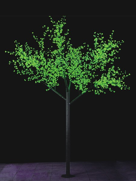 Сакура 1,5м 480 лепестков. Зеленая
