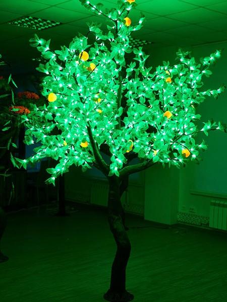 Персик 2,5м 1280 светодиодов