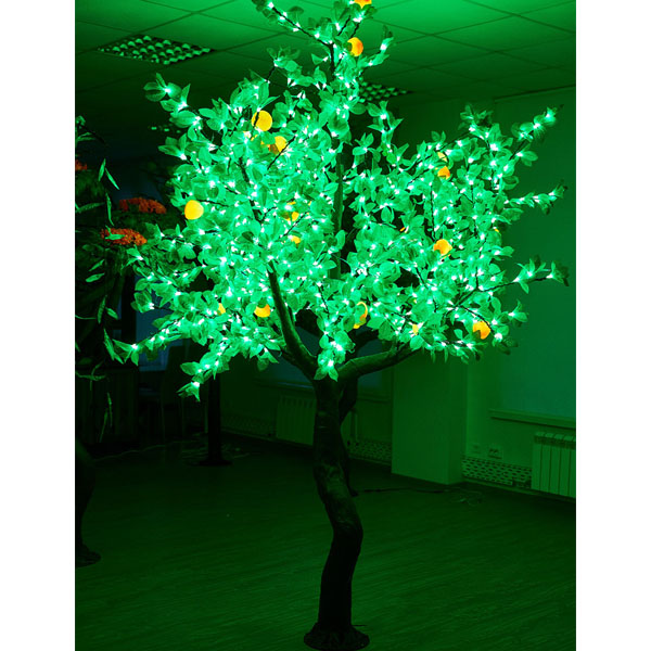"""Световое дерево """"Персик"""" 2,5м 1280 светодиодов"""