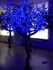 Сакура 2,5м 1280 светодиодов. Синяя