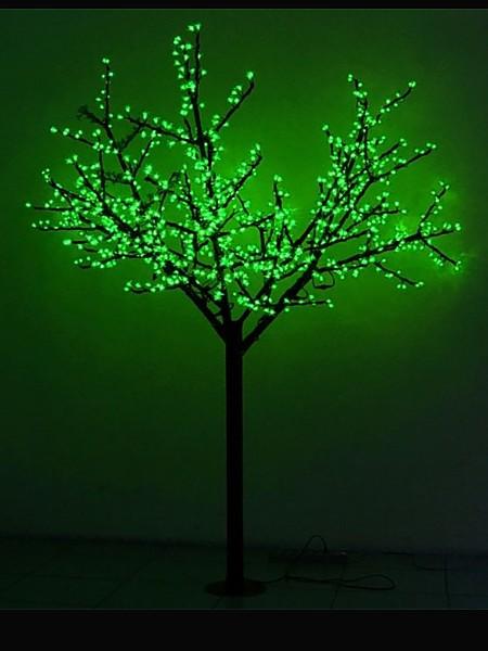 Сакура 2м 864 лепестка. Зеленая