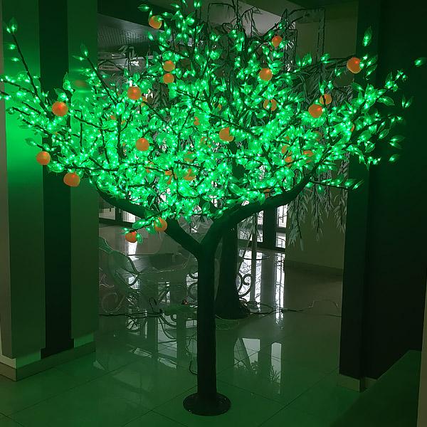 """Световое дерево """"Апельсин"""" 2304 светодиодов, 2,5м"""