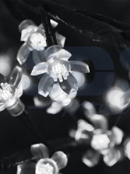 Сакура 1,5м 480 лепестков. Белая