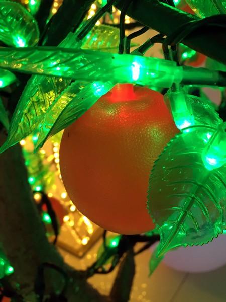 """Световое дерево """"Апельсин"""" 2,5м  2304 светодиодов"""
