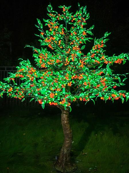 """Световое дерево """"Вишня"""""""