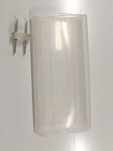 Силовой коннектор для 2-х жильного дюралайта