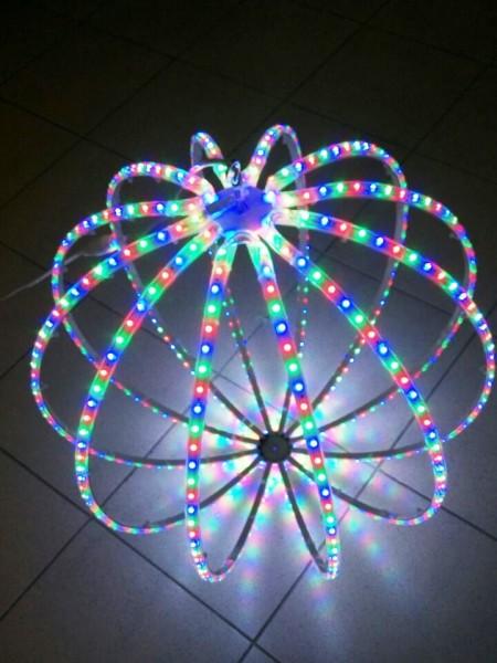 """Светодиодная фигура """"Шар"""" 50 см. RGB"""