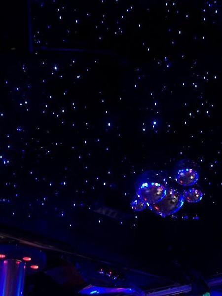 Оптоволоконная гирлянда «Звёздное Небо»