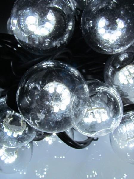 "Гирлянда белт-лайт ""Гэлэкси"" на SMD диодах. Лампы 50мм. Цвет белый"