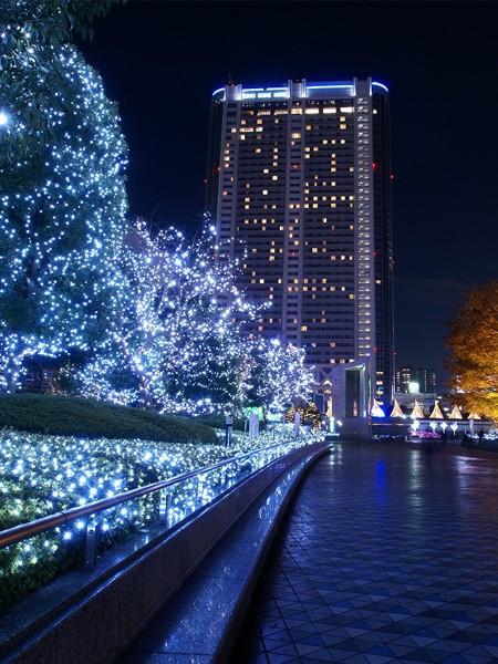 Светодиодный клип-лайт для светового украшения деревьев. Синий