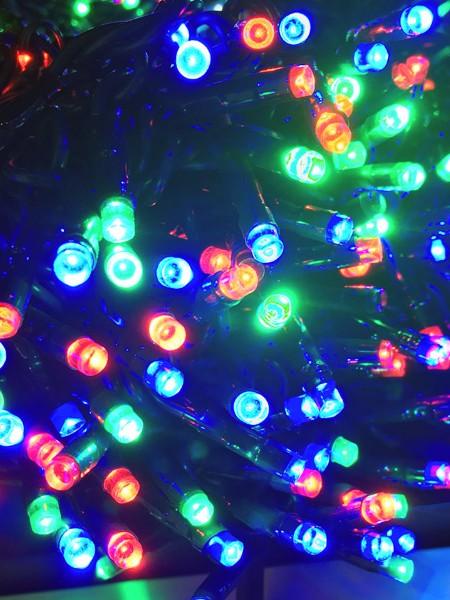 """Светодиодный """"Спайдер"""" 60м c флеш-эффектом - комплект. RGB"""