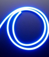 Гибкий неон МИНИ 8x16мм, 12В. Синий