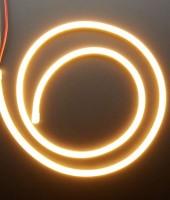 Гибкий неон МИНИ 8x16мм, 12В. Оранжевый