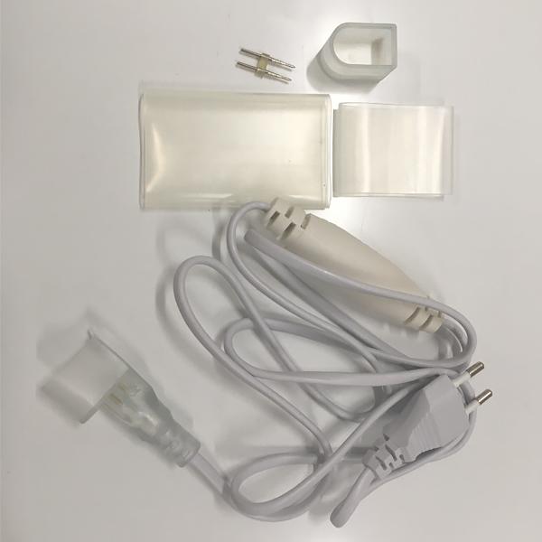Комплект подключения для профессионального гибкого неона SMD 2835,15Х26мм