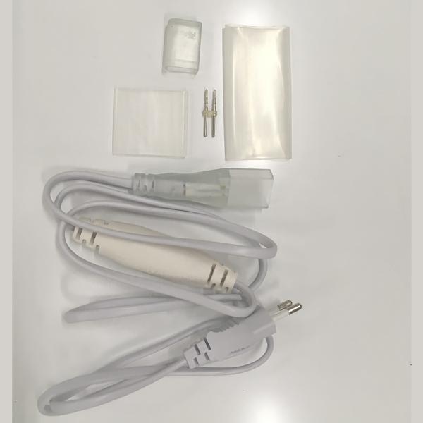 Комплект подключения для двухстороннего гибкого неона 8,5х18мм