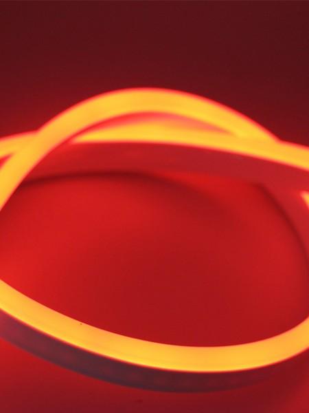 Гибкий неон SMD 2835,15х26мм ПРОФЕССИОНАЛЬНЫЙ. Оранжевый