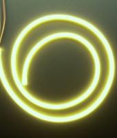 Гибкий неон МИНИ 8x16мм, 12В. Тепло-белый (желтый)