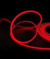 Гибкий неон МИНИ 8x16мм, 220В. Красный
