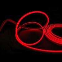 Гибкий неон 8x16мм, 220В. Красный