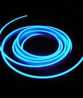 Гибкий неон МИНИ 8x16мм, 220В. Синий