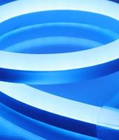 Гибкий неон SMD 2835,15х26мм ПРОФЕССИОНАЛЬНЫЙ. Синий