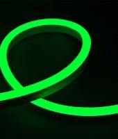 Гибкий неон SMD 2835,15х26мм ПРОФЕССИОНАЛЬНЫЙ. Зеленый