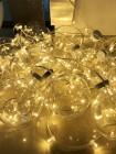 """Гирлянда """"Лунный Свет"""" 12В на прозрачном проводе: 12 шаров, d=180мм, длина 10м"""