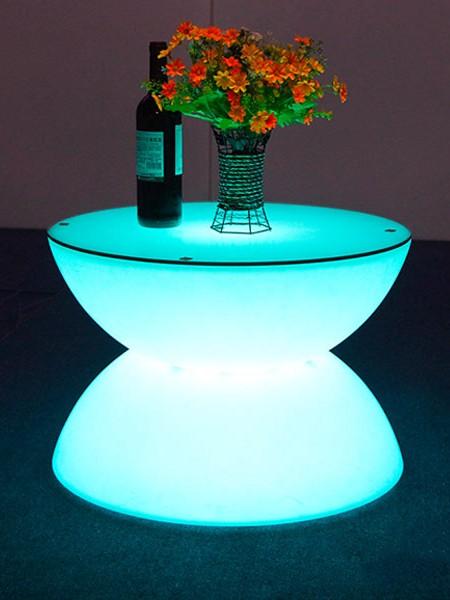 Наземный светодиодный стол фуршетный, D660*440мм, RGB