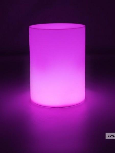 Фуршетный влагозащищенный стол-цилиндр, 400*400мм. RGB