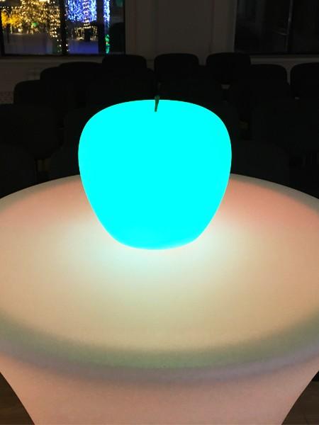 LED Яблоко влагозащищенное, D=200 мм, RGB
