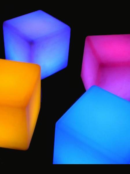 """Стол-табурет """"Куб"""", 430*430мм, RGB"""