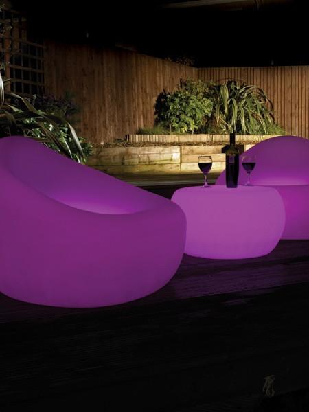 Наземное светодиодное кресло, D560*460 мм, RGB