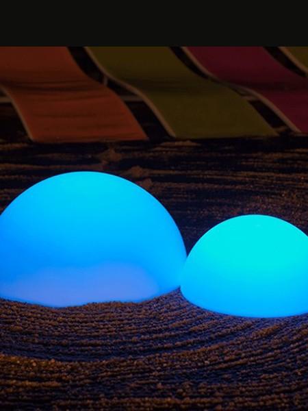 Ландшафтный светильник полусфера, d=350 мм, RGB