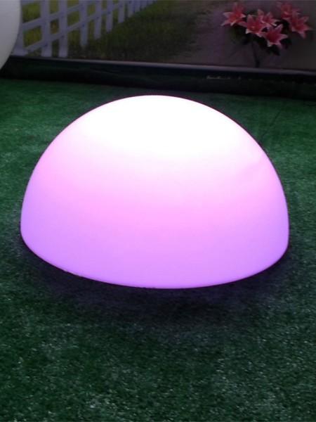 Ландшафтный светильник полусфера, d=500 мм, RGB