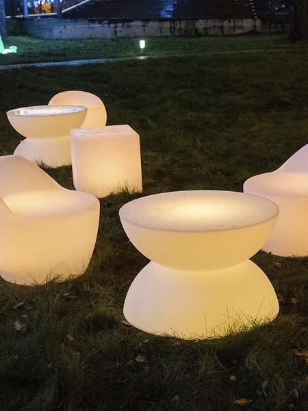 Светодиодное влагозащищенное кресло, 560*560*540 мм, RGB