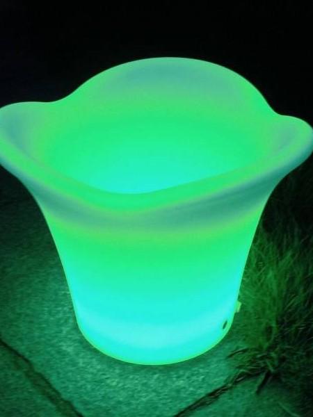 LED ваза, 340*340*270 мм, RGB