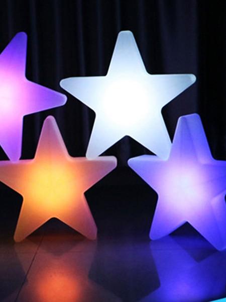 LED Звезда влагозащищенная, 450*450*120 мм, RGB
