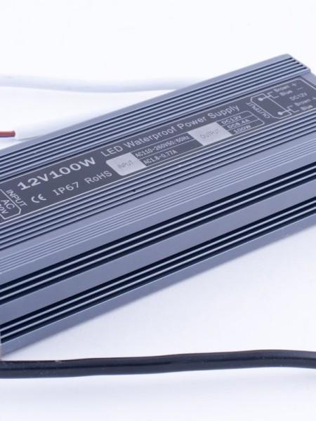Блок питания герметичный 12В 100Вт