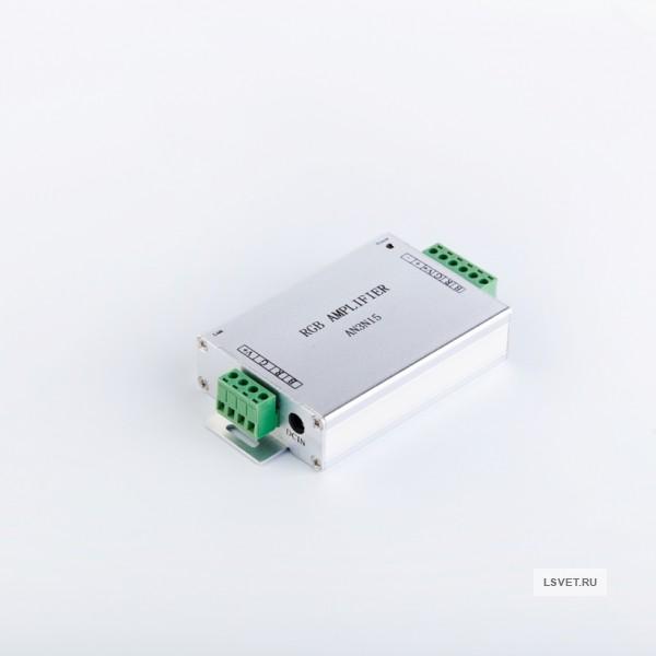 Усилитель для контроллера для светодиодной ленты RGB 180/360 Вт