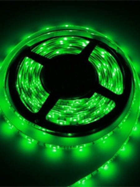 Светодиодная лента LUX открытая 5050 30 диодов зеленый