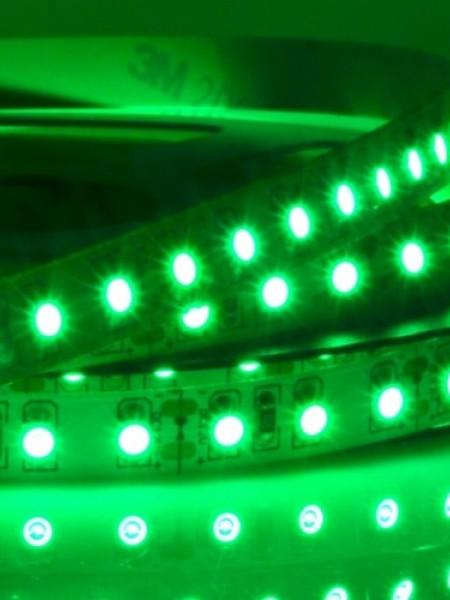 Светодиодная лента LUX открытая 3528 60 диодов зеленая