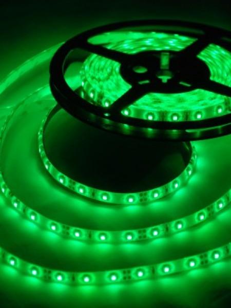 Светодиодная лента LUX герметичная 3528 60 диодов зеленая